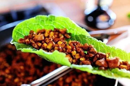 Vegetarian lettuce wraps   Recipe   Pinterest