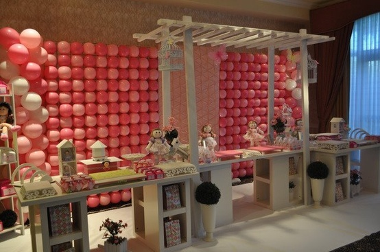 Balloon wall decor | Recruitment | Pinterest