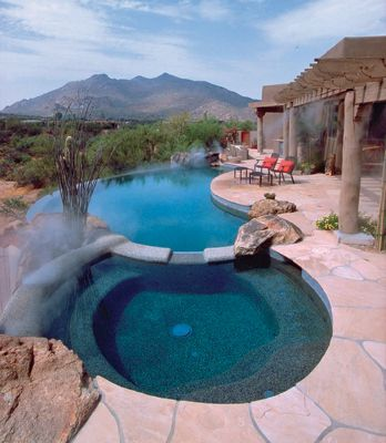Pin by daisy nguyen on pool and guest house pinterest for Salt water pool