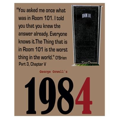 1984 room 101 surveillance and proletariat Orwell's primary goal in 1984 is to demonstrate the terrifying possibilities of totalitarianism the reader experiences the nightmarish world that orwell envisions through the eyes of the.