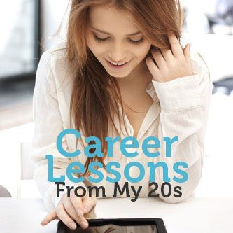 What career lessons did this professional wish she knew in her 20s? #career #job