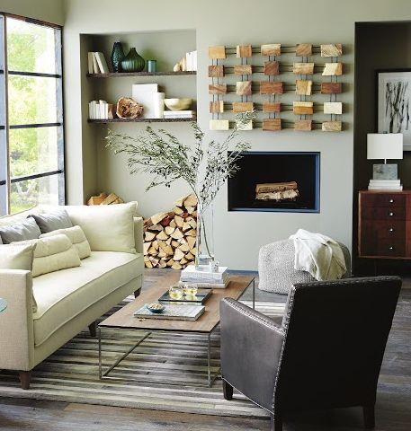 Rustic modern living room decor pinterest Modern rustic living room