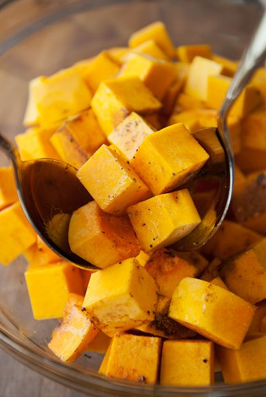 roasted butternut squash with moroccan spices recipe | use real butter
