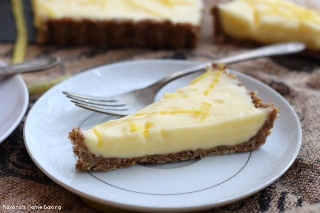 Light lemon curd tart | Recipe