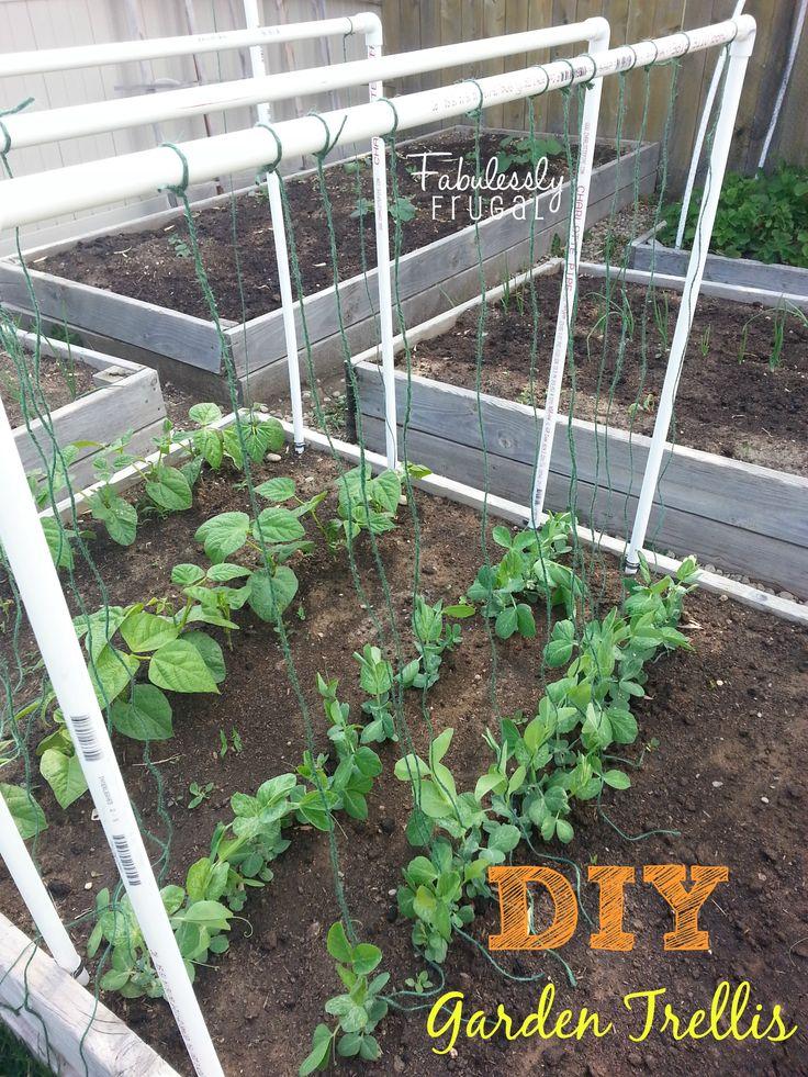 Diy garden trellis for Garden trellis ideas