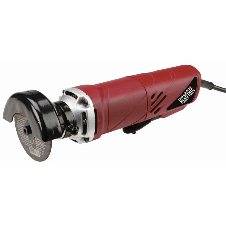"""Chicago Electric Power Tools 60415 120 Volt 3"""" High Speed Cut-Off Tool"""
