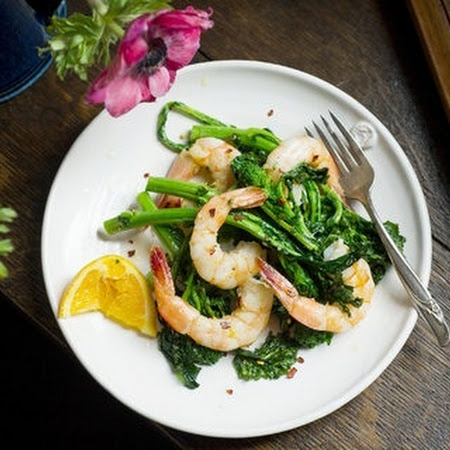 Spicy Roasted Shrimp and Broccoli Rabe | Low Carb Creations | Pintere ...