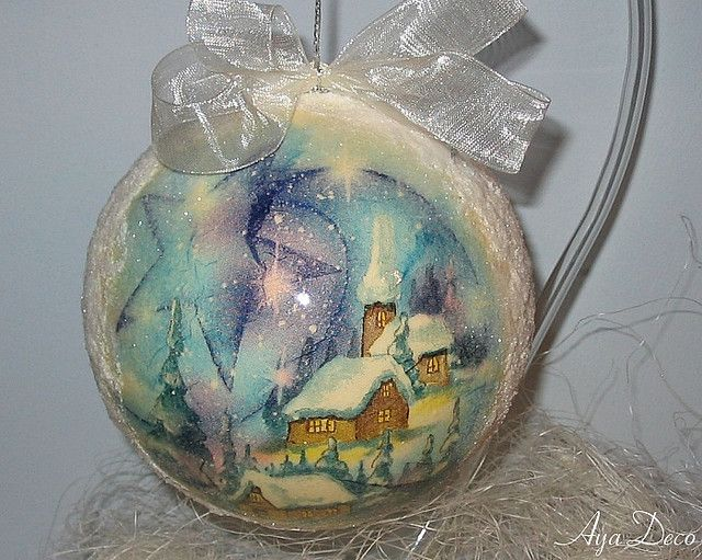 Christmas Ball Ornament - Winter