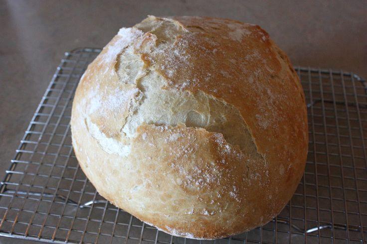 Easy Crusty Artisan Bread Recipe | Hearth Magazine