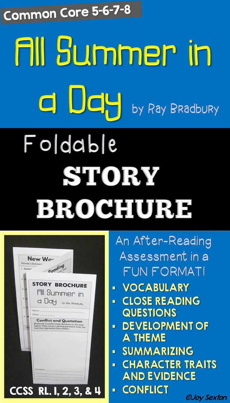 an analysis of the short stories of ray bradbury A sound of blunder a warm phlegm gathered in mr eckels's throat: he swallowed and pushed it down mr eckles had just taught ray bradbury's a sound of thunder short story during a principal's observation and his sound of thunder lesson plans didn't go very well.
