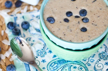 Blueberry Pancake Batter Smoothie — Punchfork