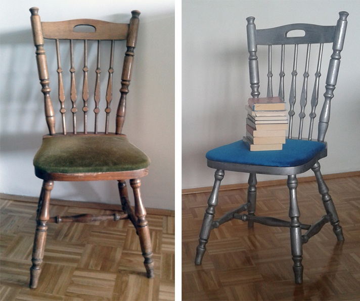 Chair makeover | Furniture makeovers - from old into new ...