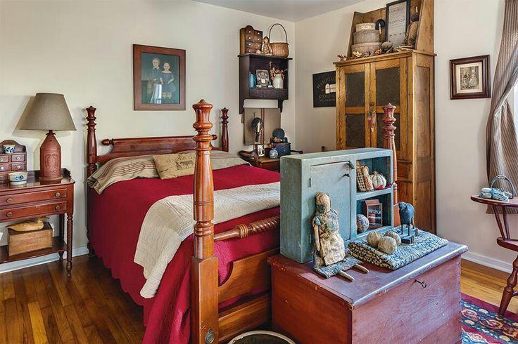 primitive bedroom bedrooms pinterest