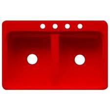Red Kitchen Sink : Red Kitchen Sink Red...Love It! Pinterest