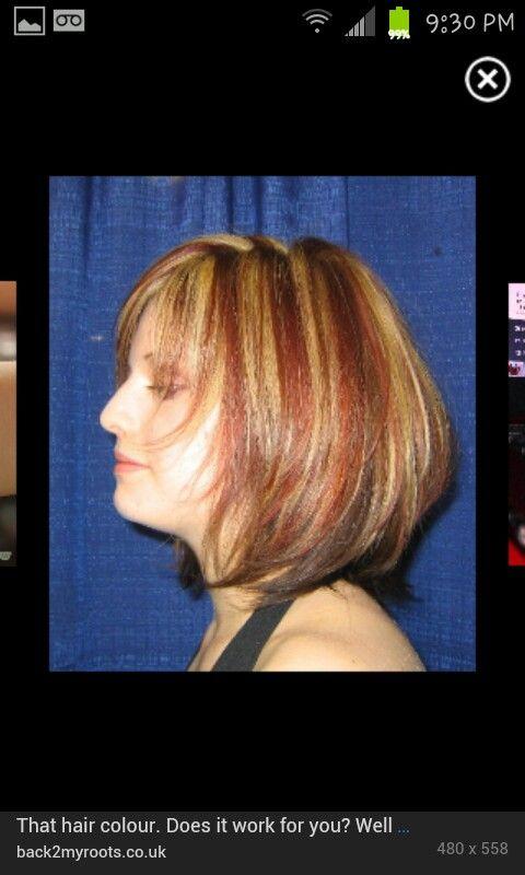Hair highlights | Hair & nails | Pinterest