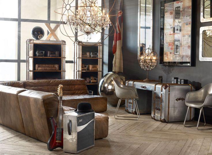 Living Room Vintage Industrial Style Industrial Style