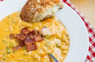 Beer Mac n Cheese Soup — Punchfork   No Soup For You   Pinterest