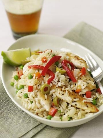 Dijon-Chicken Rice Salad | Food | Pinterest