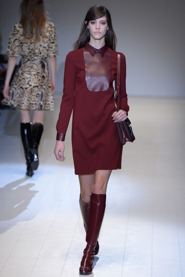 clothes for real women . Look at this picture, burgundy shift dress