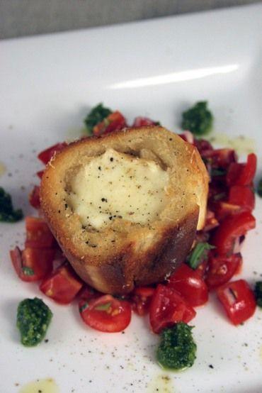 Penne With Tomato Pesto And Smoked Mozzarella Recipe — Dishmaps