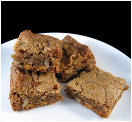 Butterscotch Blondies | Brownies and Bars | Pinterest