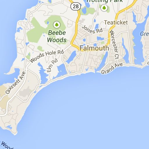 Falmouth Beaches Google Maps Cape Cod Pinterest