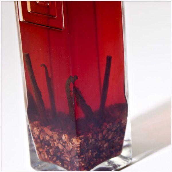 Homemade Chocolate Liqueur 1 1-liter bottle 151-proof rum 2 vanilla ...