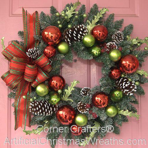 welcome christmas wreath on - photo #23