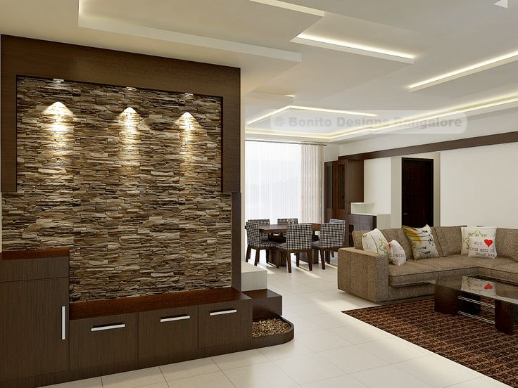 Amazing Foyer With Stone Cladding Bonito Designs