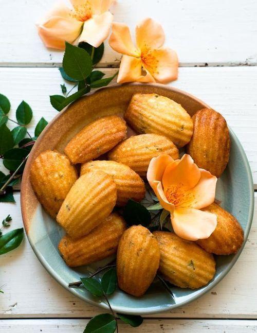 Vanilla Bean and Thyme Madeleines | ♨ 七αʂƭу ♨ | Pinterest