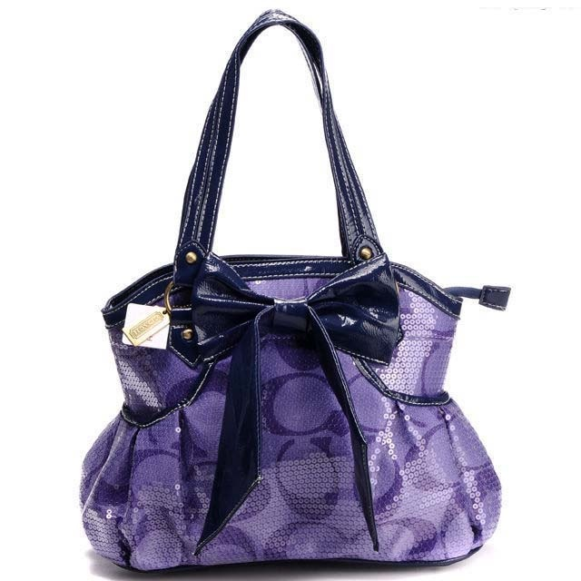 Purple Coach Handbag :)