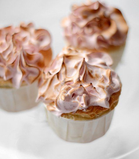 Airy Angel Food Cupcakes Recipe — Dishmaps