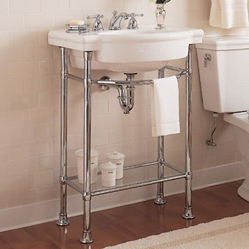 Console Bathroom Sinks : ... Standard 0282008WH/8711000CP
