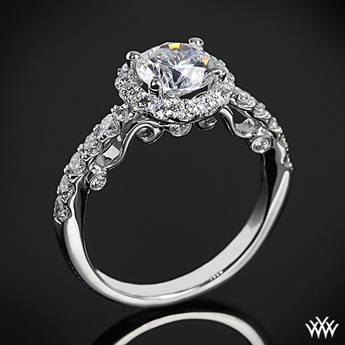 Pretty and unique - amazing engagement ring.