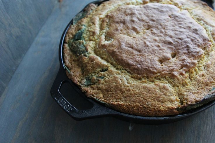 Sage Maple Skillet Corn Bread | All Things Corny | Pinterest
