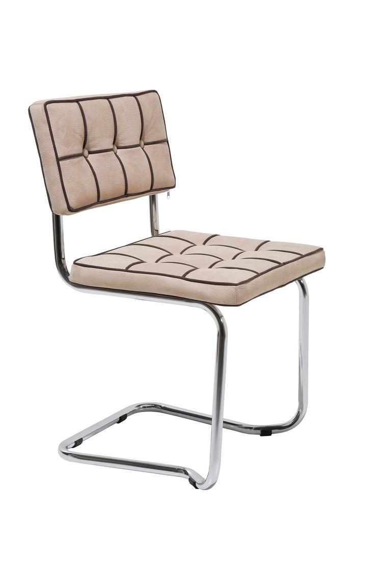 kare design komfortabler freischwinger im karo design hoher sitzkomfort inklusive sitzh he 50. Black Bedroom Furniture Sets. Home Design Ideas