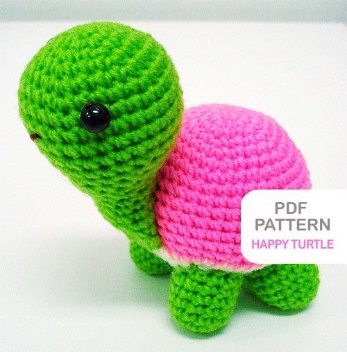 Free Amigurumi Patterns Bunny : crochet turtle scarlett Pinterest
