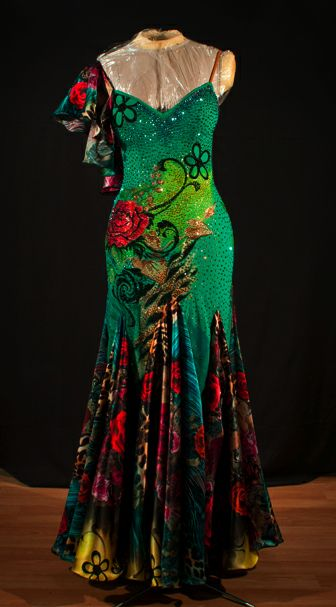 Image detail for -hand painted dress