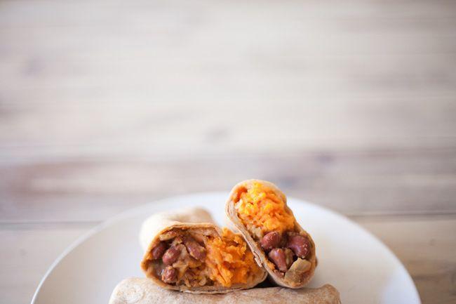 Addictive Sweet Potato Burritos | Recipes to try... | Pinterest