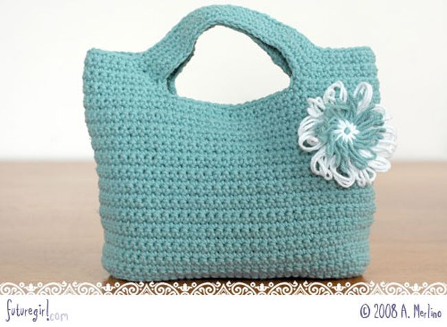Free Crochet Bag Pattern Crochet Pinterest