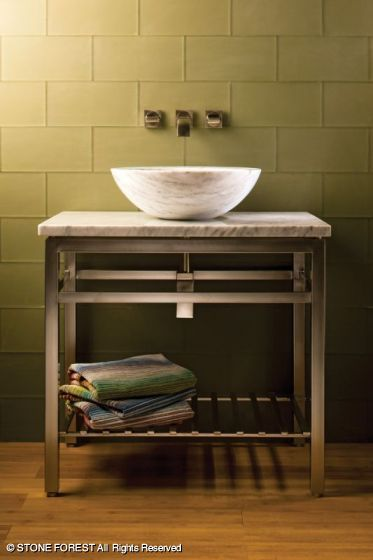 Bathroom Sink With Stand : Washbasin Vessel Sink stand Bathroom remodel ideas Pinterest