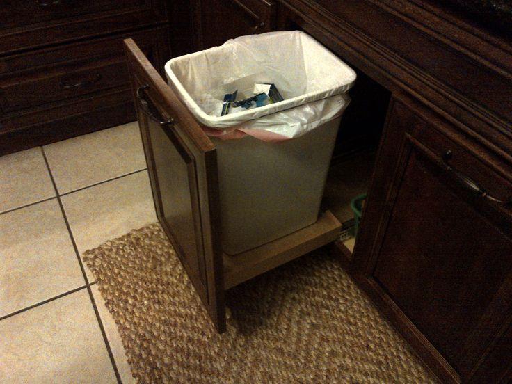under sink trash pull out kitchen design pinterest. Black Bedroom Furniture Sets. Home Design Ideas