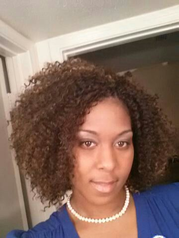 Crochet Braids w/ Model Model Water Wave hair. If you are in the ...