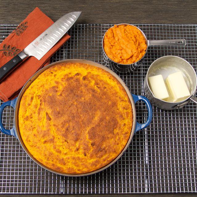 Sweet Potato Cornbread | Food | Pinterest