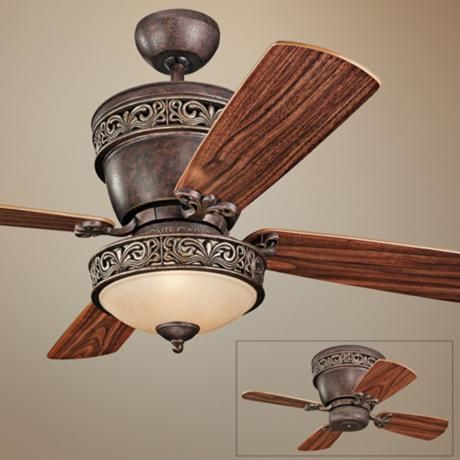 42 Monte Carlo Villager Walnut Ceiling Fan With Light Kit