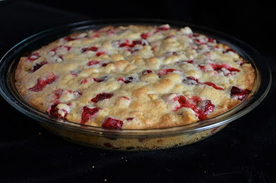 "Crustless Cranberry Pie (a.k.a. ""Cranberry Awesomeness"")"