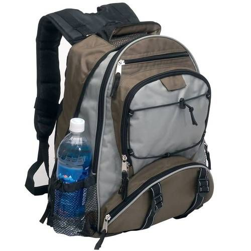 New Backpack Water Bottle Holder School Book Bag Hiking Camping EDC ...