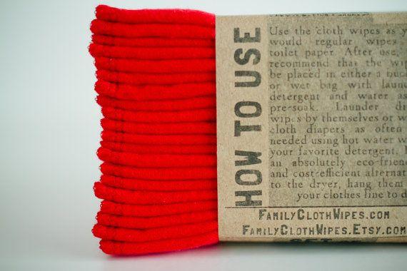 Cloth Wipes Family Cloth Wipes Baby Cloth by FamilyClothWipes, $16.80