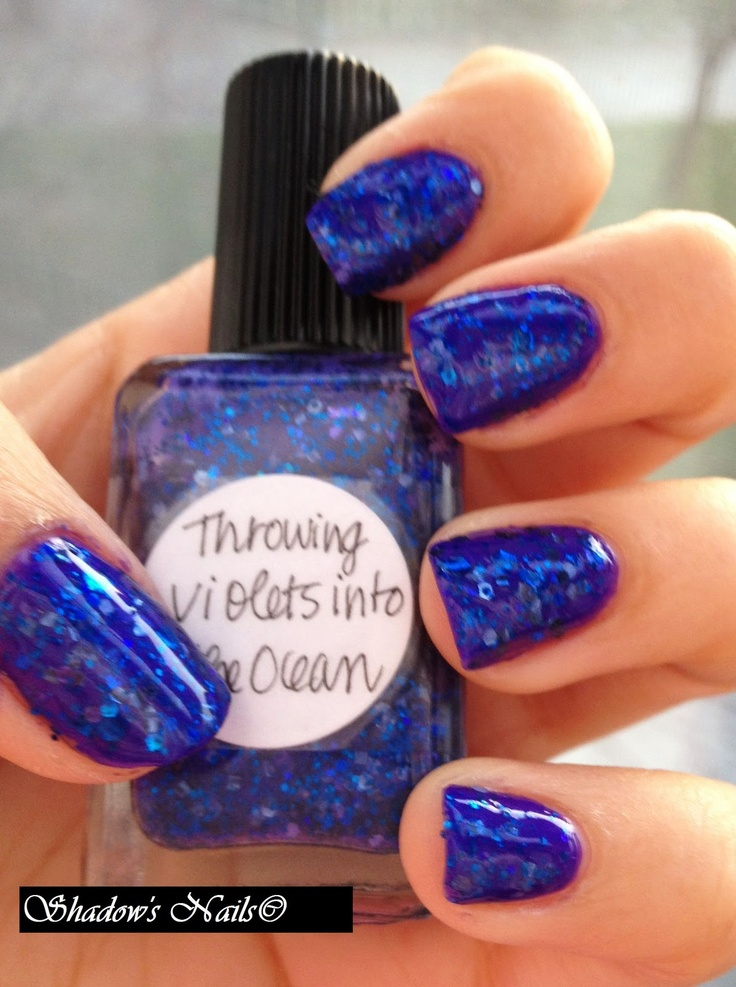 coat of unnamed Purple polish from Urban Outfitters, 1 coats of