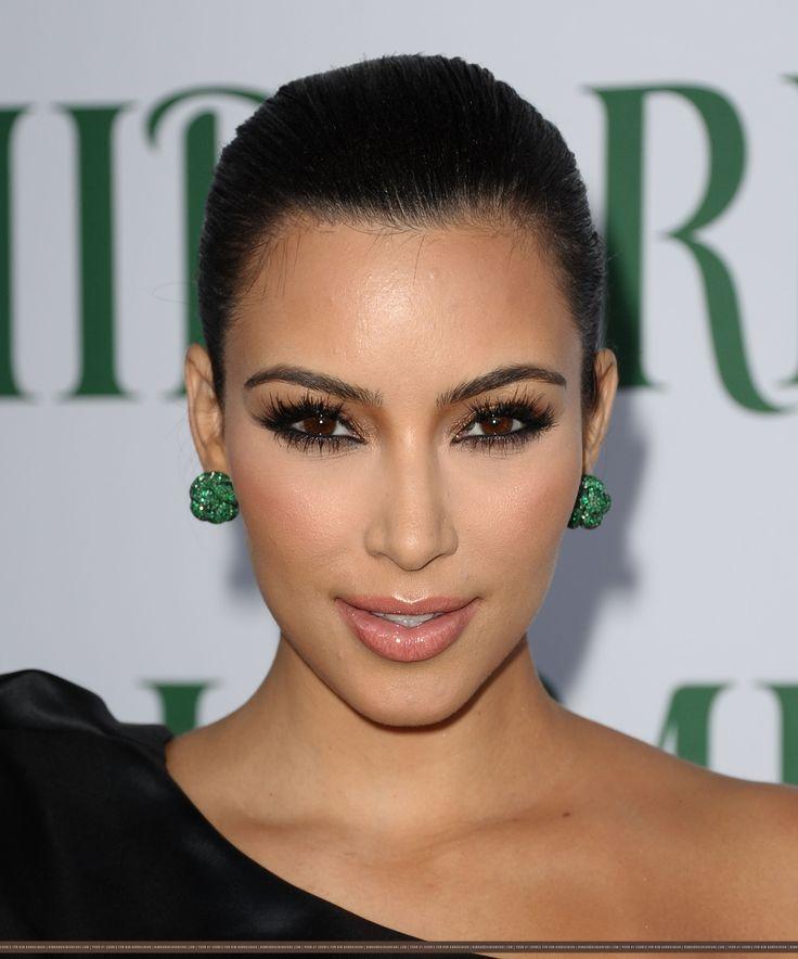 brown bronze eye makeup kim kardashian looks makeup